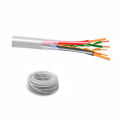 Cavo UTP 1x2 24AWG + 2x0,50mm categoria 3 flessibile (200mt - bianco)